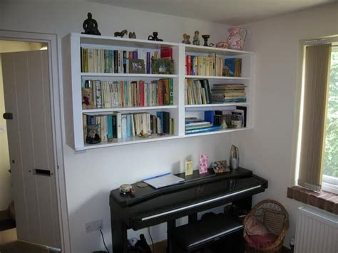 Wall Hung Bookshelf by Wall Mounted Bookcase Ideas For Home Office Hanging Wall