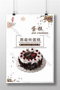 black forest cake poster psd free pikbest