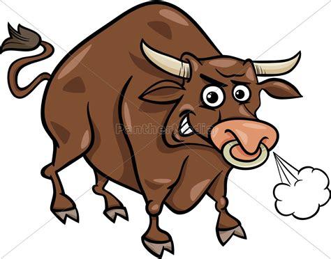 granja toro de dibujos animados de animales de archivo 11350133 agencia de stock