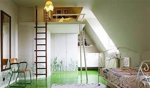 lit mezzanine pour chambre denfant With mezzanine dans une chambre