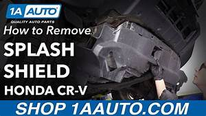 How To Replace Under Car Splash Shield 07