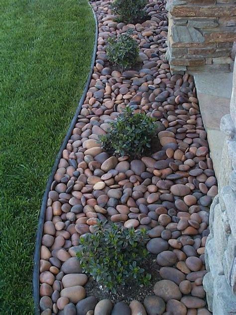 Garden Decorative Pebble by Mexican Pebbles Landscape Asphalt Materials