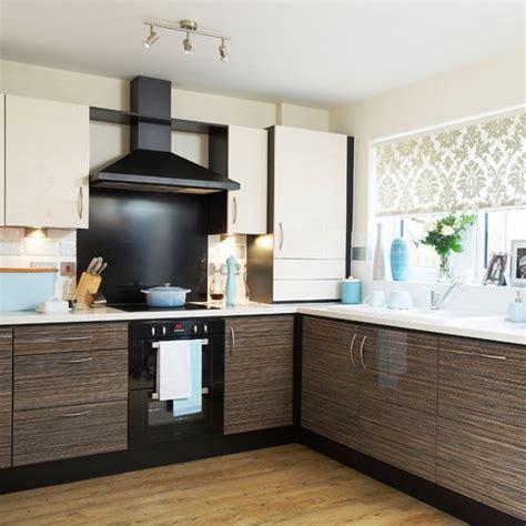 Modern Kitchen With Duckegg Accessories  Kitchen