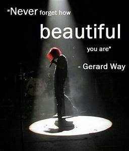 My Chemical Romance Gerard Way Quotes. QuotesGram