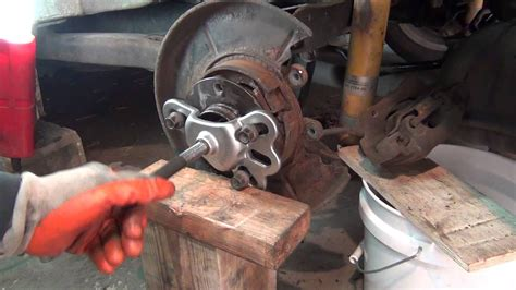 bmw  hub removal axle removal set  youtube
