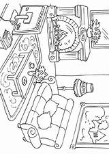 Coloring Living Pages Printable Sheets Drawings Adult Getcolorings Edupics sketch template