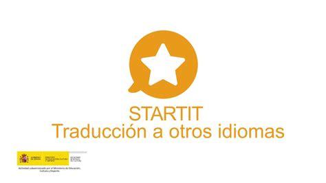 STARTIT Tutorial - Traducción a varios idiomas - YouTube