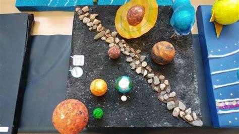 maqueta de material reciclado estrellas y el sistema solar exposici 211 n de maquetas de