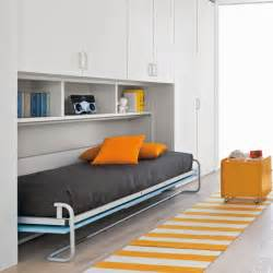 Start bedroom with additional wall bed clever