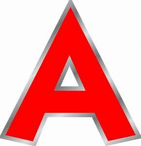 Red A Clip Art at Clker.com - vector clip art online ...