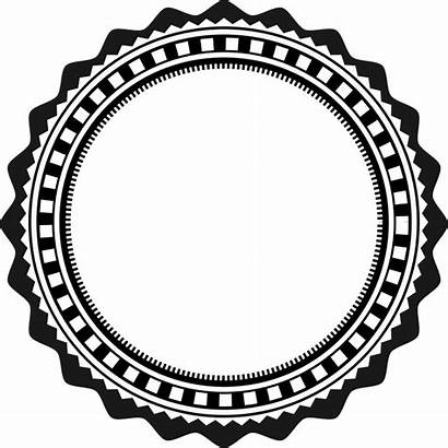 Stamp Round Clipart Transparent Circle Template Webstockreview
