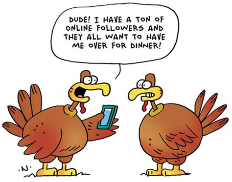 38 Funny Thanksgiving Day Jokes And Comics