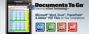 documents to go powerpoint excel word pdf sur android With documents to go excel