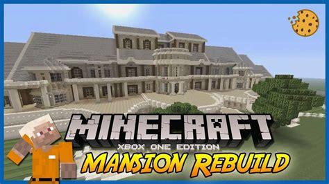 Minecraft  Mansion Rebuild  Luxury Mansion Youtube