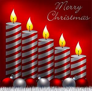 Free Christmas Candle Graphics - Christmas Candle ...