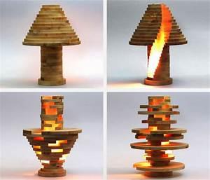 Comment Fabriquer Une Lampe : comment fabriquer une lampe en bois design de maison ~ Medecine-chirurgie-esthetiques.com Avis de Voitures