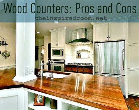 Better Homes And Gardens Kitchen Ideas - wood kitchen counters pros cons faq my experience the inspired room