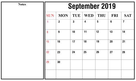 september  printable calendar templates