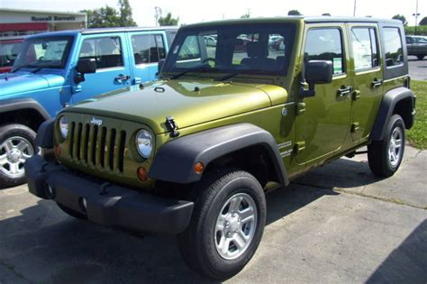 rescue green 2010 jeep paint cross reference