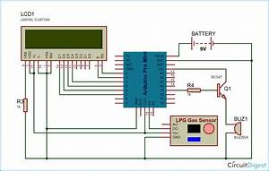 Lpg Gas Leakage Detector Using Arduino Uno  Project With