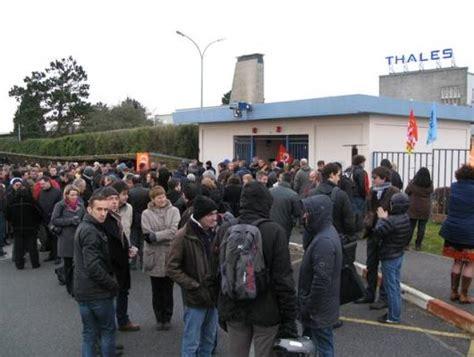 siege thales appel à débrayage 19 février 2015 coordination cgt thales