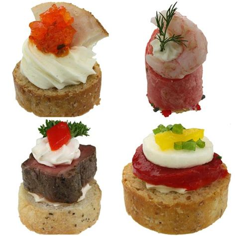 canapes de luxe convenience canapes deluxe combo box gourmet foods inc