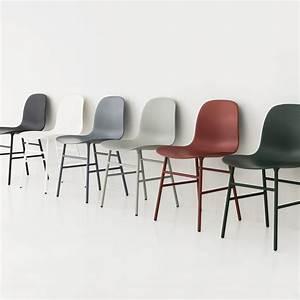 Form Chair Steel Legs By Normann Copenhagen