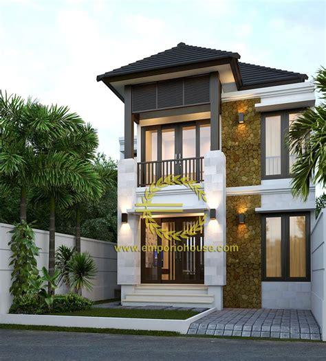 70 gambar desain rumah minimalis 2 lantai style bali
