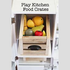 Diy Play Food Crates  Honeybear Lane