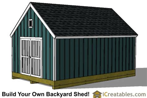 12 X 20 Modern Shed Plans by 12x20 Colonial Shed Plans Build A Shed With New