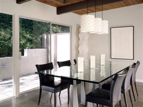 contemporary dining lighting craftsman dining room