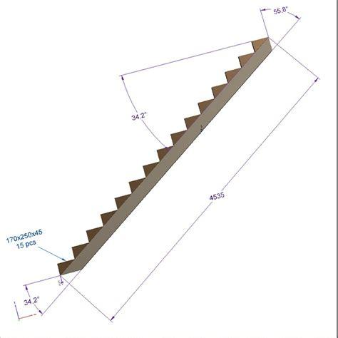 limon 15 marches escalier pin trait 233 escalier pour l ext 233 rieur deck linea