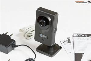 Wlan überwachungskamera Test : video berwachung wlan kamera instar in 6001 hd im test ~ Orissabook.com Haus und Dekorationen