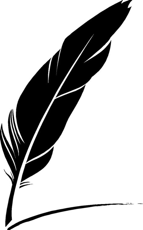 vinyl wall wall stickers decals feather quill sticker