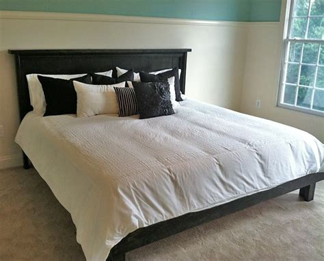 gorgeous diy bed frames ana white beds bed frame