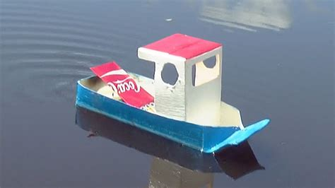 How To Make A Boat For School Project by How To Make A Simple Pop Pop Boat Youtube