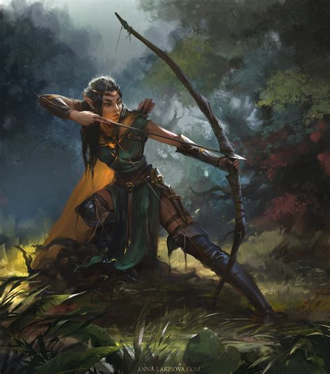 archer, Warrior, Elves, Fantasy art Wallpapers HD ...