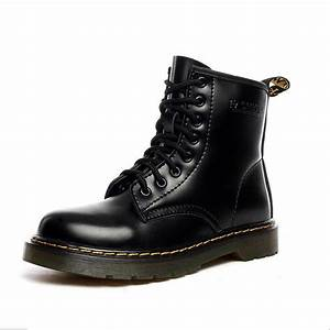 2017 New England Style 100% genuine leather women Martin ...