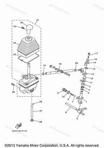 Yamaha Atv 2005 Oem Parts Diagram For Shift Shaft