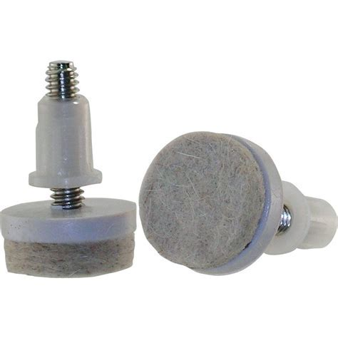 Shepherd 1 1/2 in. Threaded Stem Furniture Glides with