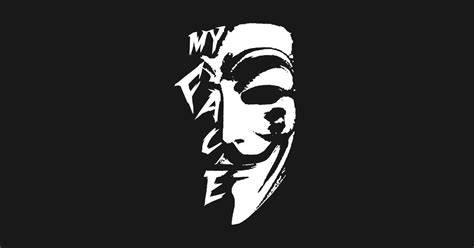 My Face Anonymous Activist T Shirt Teepublic