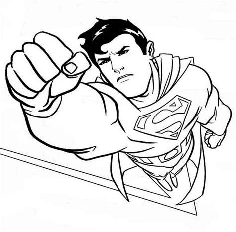 superman coloring pages fotolip