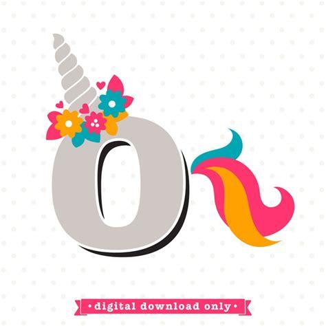 unicorn svg letter  svg unicorn monogram svg design girls etsy