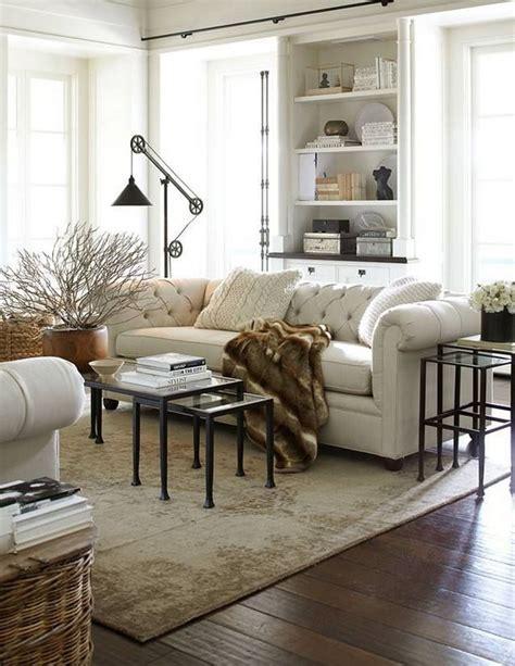 Muebles Clásicos Sofá Chesterfield  Decoración De
