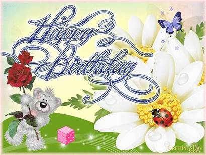 Birthday Happy Animated Cards Greetings Wishes Gifs