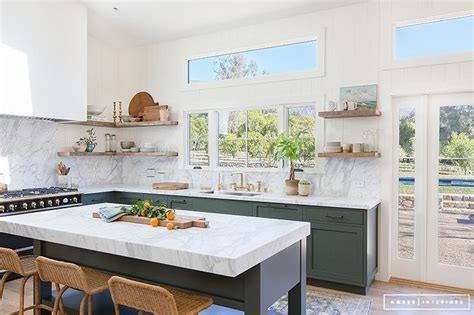 green kitchen island interior design inspiration photos by interiors
