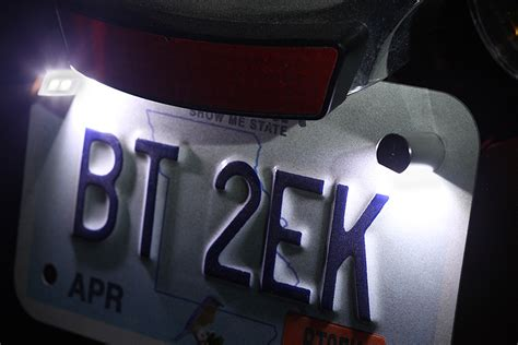 Miniature Led License Plate Bolt
