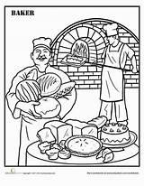 Coloring Baker Preschool Baking Bakker Worksheet Kleurplaat Education Thema Kleuters Theme Adult Printable Colorear Kleurplaten Verjaardag 65e Bricolage Helpers Learning sketch template
