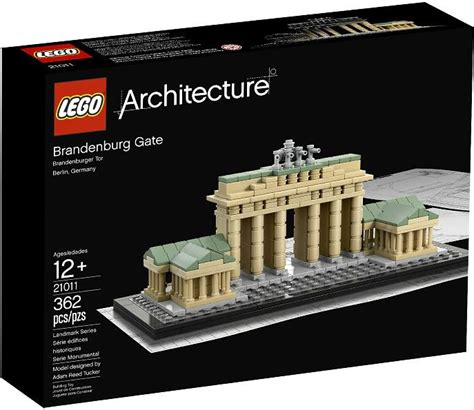 Lego 2011 Architecture Brandenburg Gate 673419159692