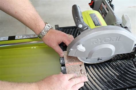 ryobi tile saw water ryobi 7 in portable tile saw with laser ws750l review